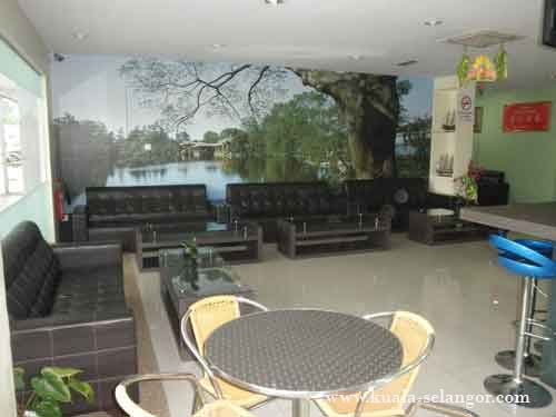 Guest Area for YH Hotel Kuala Selangor