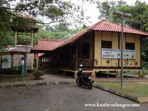 Information / Management Center at Kuala Selangor Nature Park